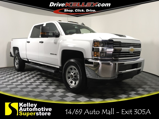 Certified Pre Owned 2017 Chevrolet Silverado 2500hd Work Truck