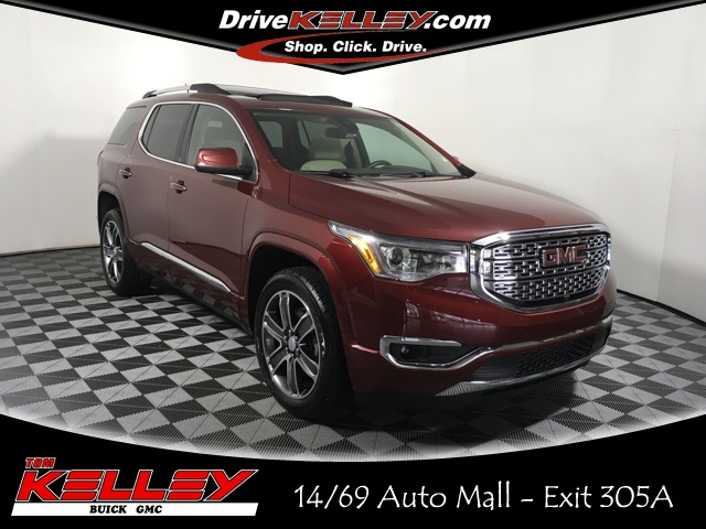 Certified Pre Owned 2017 Gmc Acadia Denali 4d Sport Utility In Fort