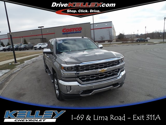 certified pre-owned 2017 chevrolet silverado 1500 ltz 4d crew cab in