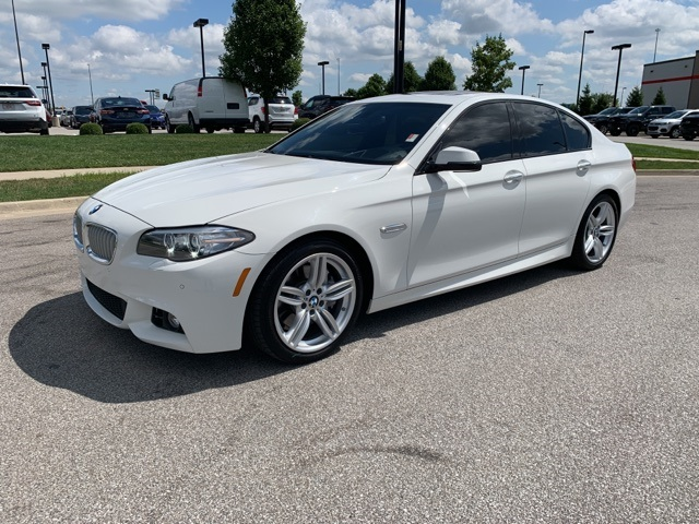 Pre-Owned 2016 BMW 5 Series 550i With Navigation