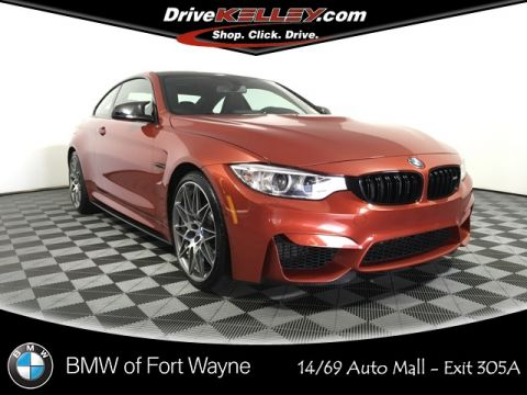 Certified Pre-Owned 2017 BMW M4 Base